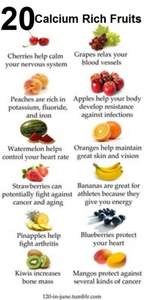 fruits w potassium 42 calcium rich foods you should include in your diet