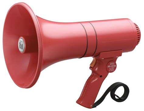 Sirene Toa toa er1215s megaphone siren firstaction emergency ready