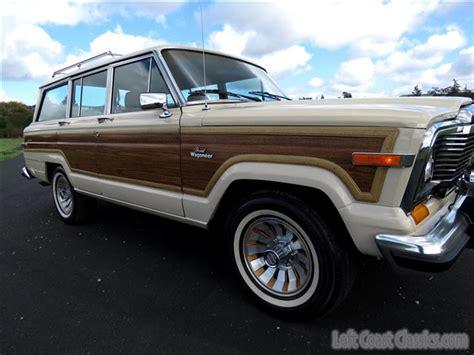 Jeep Grand 1985 1985 Jeep Grand Wagoneer For Sale