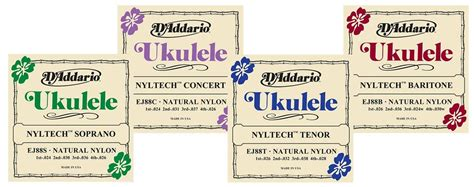 Livenatty Helps You Fit Into Different Brands by Buying Guide How To Choose The Right Ukulele Strings