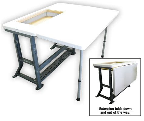 sew easy table sew sewing tables extension kit