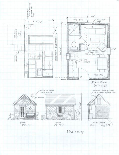 Guest Cottage Floor Plans Diy Guest Cabin Plan Plans Free