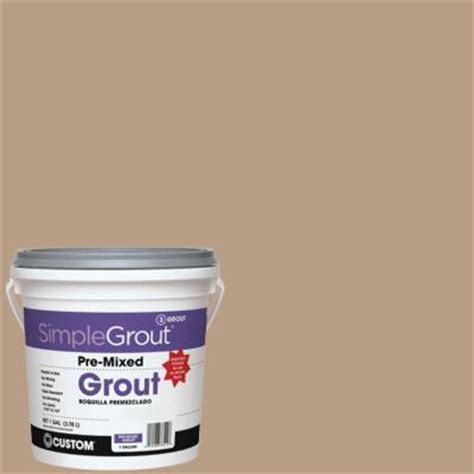 custom building products simplegrout 380 haystack 1 gal