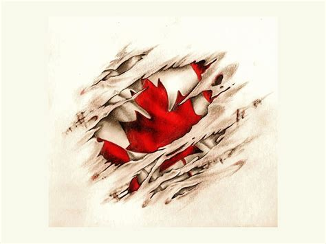 canadian tattoo designs canadian scratched vintage flag lawas