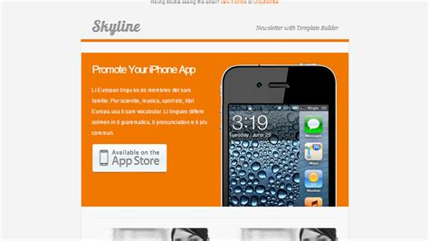 top 50 email marketing newsletter templates mobile