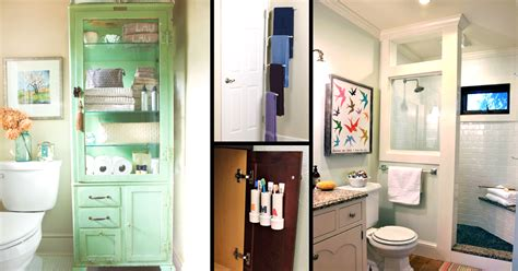 Small Space Storage Ideas Bathroom by 50 Small Bathroom Ideas That You Can Use To Maximize The