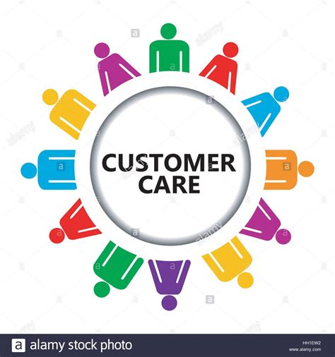 Custemer Care customer care icon with of on white