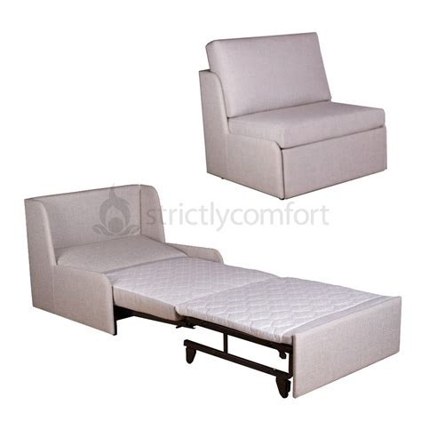 sofa bed roma armless single sofa bed in fabric sydney