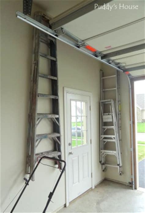 Garage Storage Ladder 17 Best Images About Getting Organized On