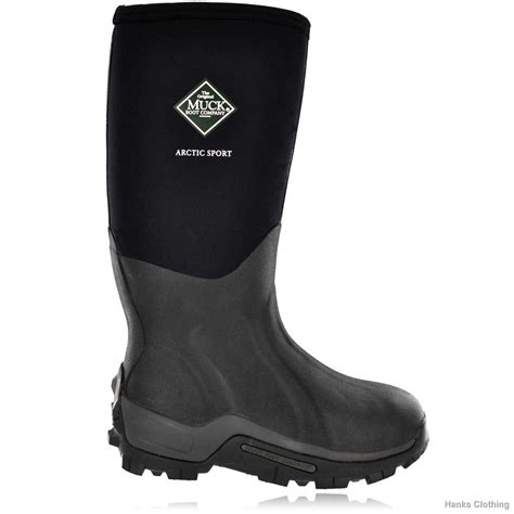 sport boots muck boot arctic sport high musta green trail oy