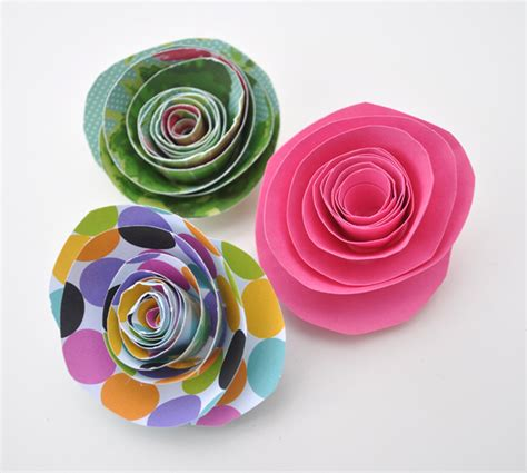 Paper Flower Crafts - paper flower and new shop items coming soon