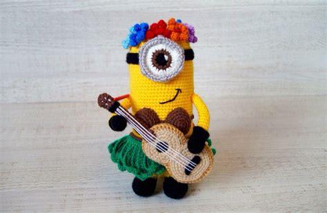 minion girl amigurumi pattern amigurumi today hawaiian minion crochet pattern amigurumi today