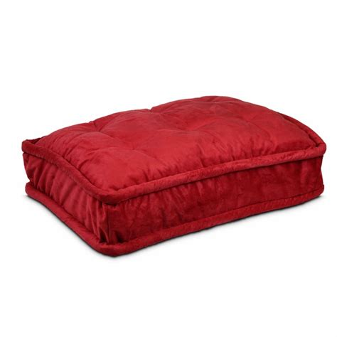 pillow top dog bed replacement cover pillow top dog bed 57 dog beds carriers