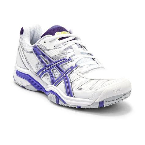 asics gel challenger 9 womens tennis shoes white