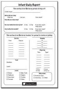 Ideas about infant daily report on pinterest preschool daily report