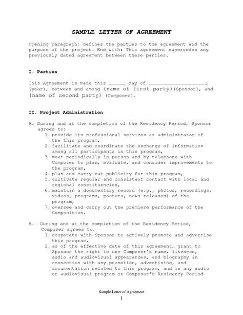 how to write a memorandum of understanding template write happy ending