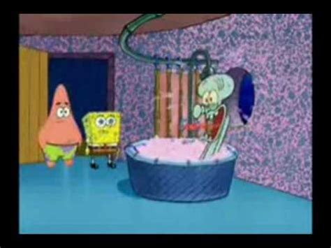 squidward screaming in the bathtub squidward has a screaming sparta remix youtube