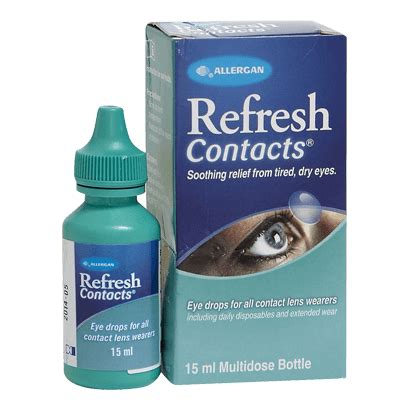 Refresh Contacts refresh contacts bottle eye care vision direct uk
