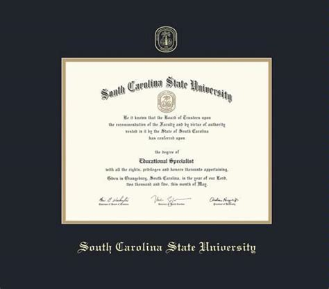Of South Carolina Professional Mba Diploma by Custom Diploma Frames Certificate Frames Framing