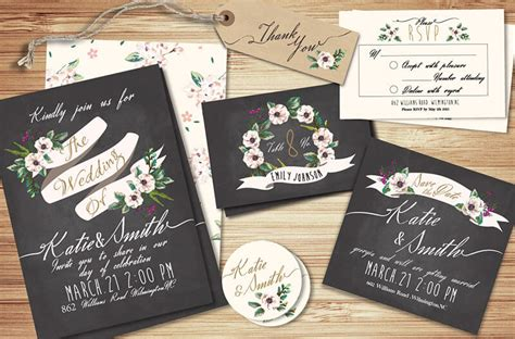 free wedding invitation suite templates free printable save the date card templates
