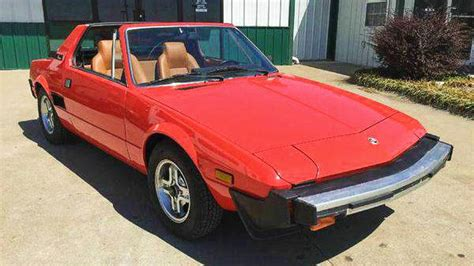 stored 20 years 1979 fiat x1 9