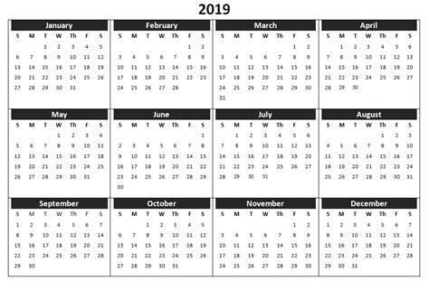 calendar printable templates word excel