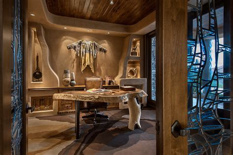 encouraging southwestern home office designs youll