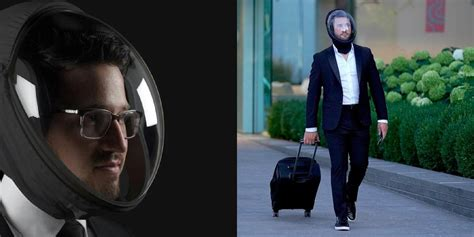 coronavirus protection helmet  straight  dystopian