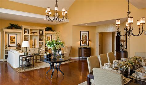 model home interior design hartman design group