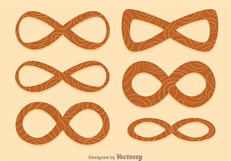 infinity woodworking infinity wood icons free vector stock