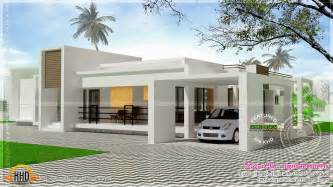 single floor home plans contemporary single storied luxury home kerala home