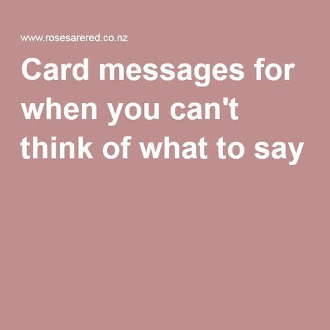 Thinking Of You Verses For Handmade Cards - de 25 bedste id 233 er inden for condolence messages p 229