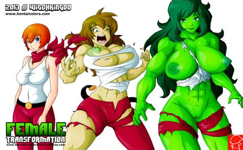 She Hulk Transformation She Hulk Porn Gallery Superheroes Pictures Luscious Hentai And Erotica