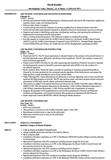 pattern air jobs air traffic controller cv template image collections