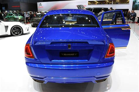 rolls royce ghost mansory mansory rolls royce ghost blinged at geneva show
