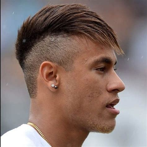 Neymar Hairstyle by Neymar New Hair Color Hairsstyles Co