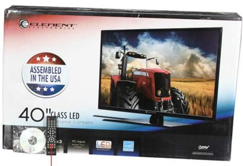 element  flat panel led tv hd review  specs product reviews net