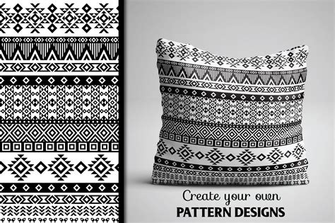 tribal pattern illustrator 80 tribal pattern brushes for adobe illustrator by
