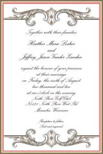 details a professional planning company the importance of the invitation