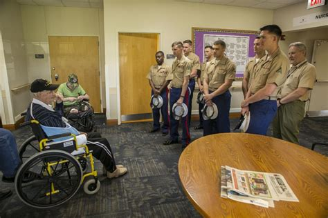 dvids news marines visit nininger veterans nursing home