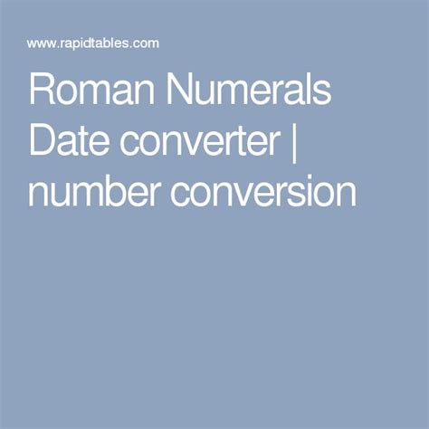 latin tattoo converter roman numerals date converter number conversion other