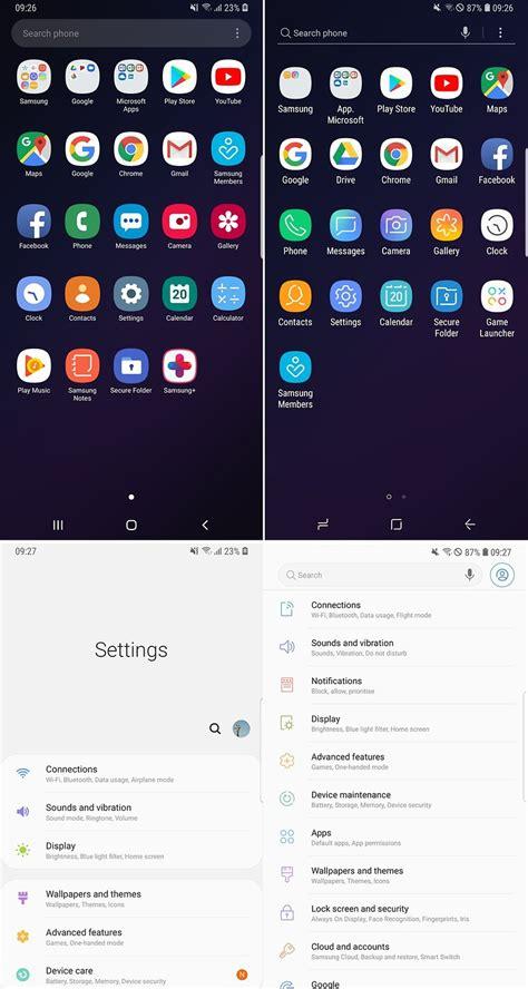 Samsung Galaxy S10 Icons by Es Werde Nacht 24 Stunden Mit Samsungs Neuer One Ui Androidpit