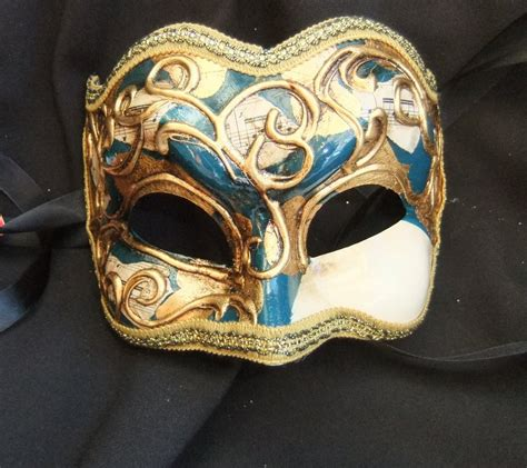 Masker Hidung Nose Gold Mask 11 genuine venetian blue gold joker half mask a
