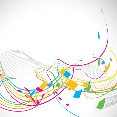 colorful lines abstract colorful lines background design vector free