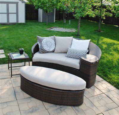 Patio Day Beds by Wicker Patio Daybed From Target Backyard