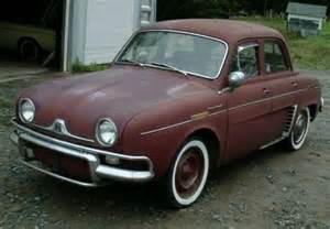 Renault Gordini For Sale 1960 Renault Dauphine Deluxe Sunroof Bring A Trailer