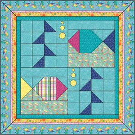 Patchwork Fish Pattern - 680 best fish quilts sealife images on