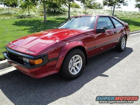 1985 Toyota Supra For Sale 1985 Toyota Supra Pictures Photos And Sounds