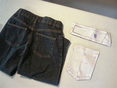 pattern pieces for jeans seth s jeans sweet shop sewing