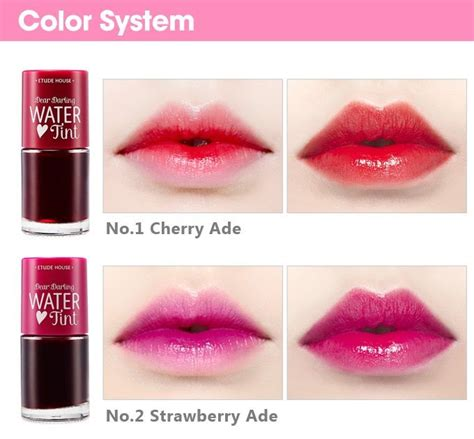 Harga Tony Moly Tint Water review dear etude house water tint in bahasa